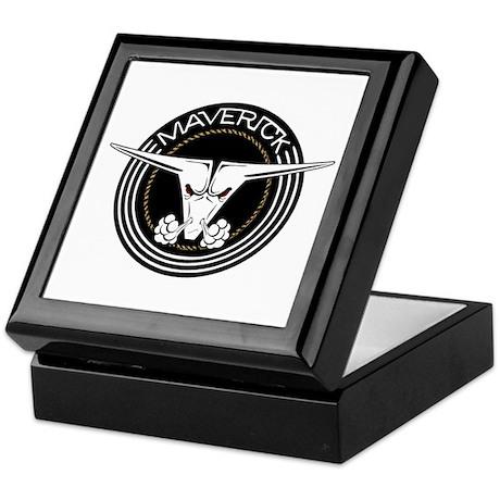 Maverick Head Keepsake Box