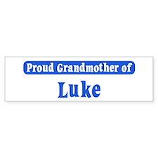 Grandmother of Luke Bumper Bumper Sticker