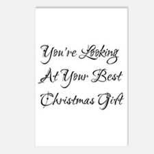 Best Christmas Gift! Postcards (Package of 8)