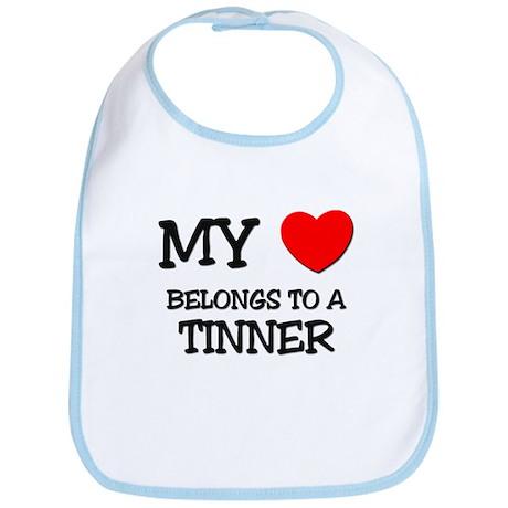 My Heart Belongs To A TINNER Bib