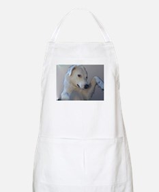 BBQ Apron featuring Dolly the Akbash Dog