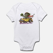 Cool Daddies hot rod Infant Bodysuit
