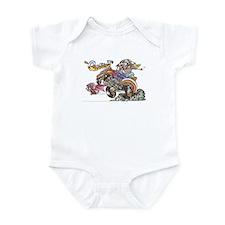 Cool Daddies hot rod Infant Bodysuit