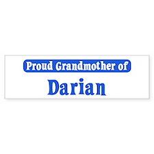 Grandmother of Darian Bumper Bumper Sticker