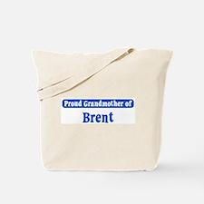 Grandmother of Brent Tote Bag