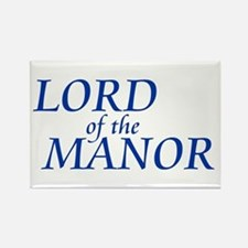 Lord of the Manor Rectangle Magnet