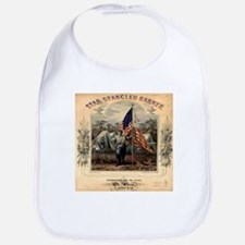 Star-Spangled Banner Sheet Music Bib