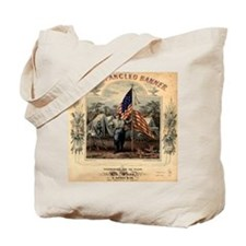 Star-Spangled Banner Sheet Music Tote Bag