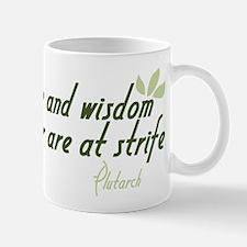 Nature and Wisdom Quote Mug