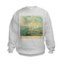 Bombardment of Ft. McHenry, 1812 Sweatshirt
