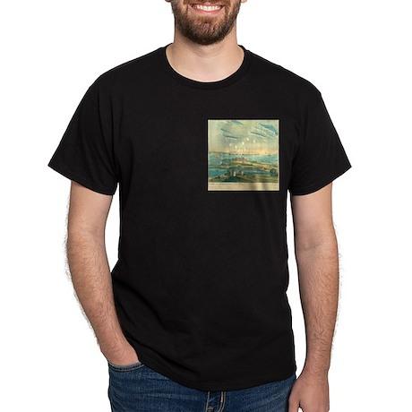 Bombardment of Ft. McHenry, 1812 Dark T-Shirt
