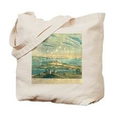 Bombardment of Ft. McHenry, 1812 Tote Bag