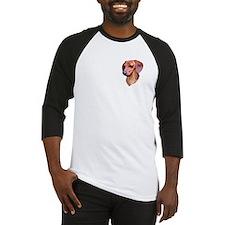 red dachshund Baseball Jersey