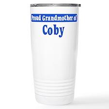 Grandmother of Coby Travel Mug