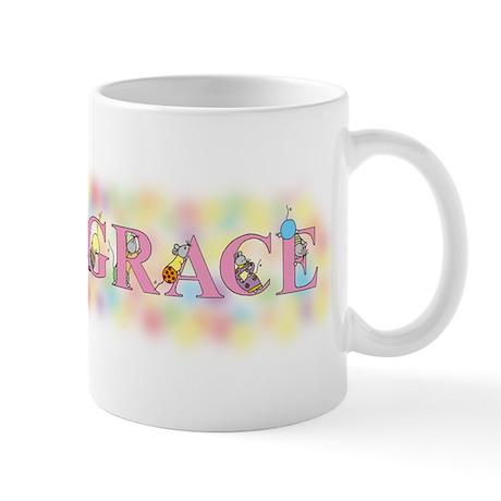 """Grace"" with Mice Mug"