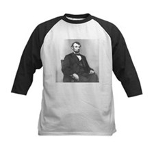 Abraham Lincoln seated 1864 by Anthony Berger Tee