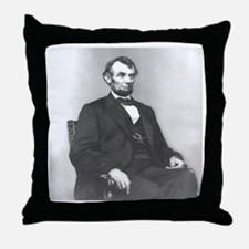 Abraham Lincoln seated 1864 by Anthony Berger Thro