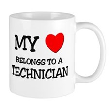 My Heart Belongs To A TECHNICIAN Mug