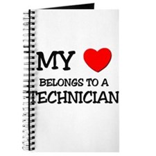 My Heart Belongs To A TECHNICIAN Journal