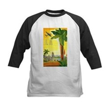 Vintage Travel Poster Los Angeles Tee