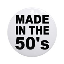Made in the 50's Ornament (Round)