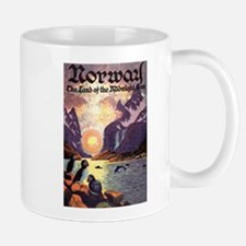 Vintage Travel Poster Norway Mug