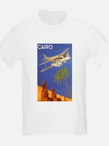 Vintage Travel Poster Cairo Egypt T-Shirt
