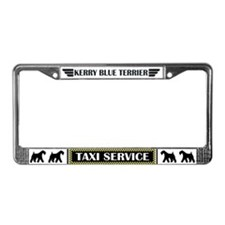Kerry Cab License Plate Frame