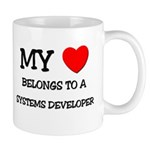 My Heart Belongs To A SYSTEMS DEVELOPER Mug