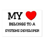 My Heart Belongs To A SYSTEMS DEVELOPER Postcards