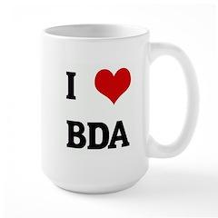 I Love BDA Mug