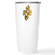 Adinkra - Peace gold Travel Mug