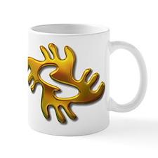 Adinkra - Peace gold Mug