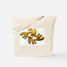 Adinkra - Peace gold Tote Bag