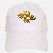 Adinkra - Peace gold Baseball Baseball Cap