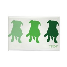 TPBP Green Rectangle Magnet