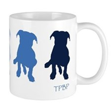 TPBP Blue Small Mugs