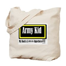 Army Kid Tote Bag