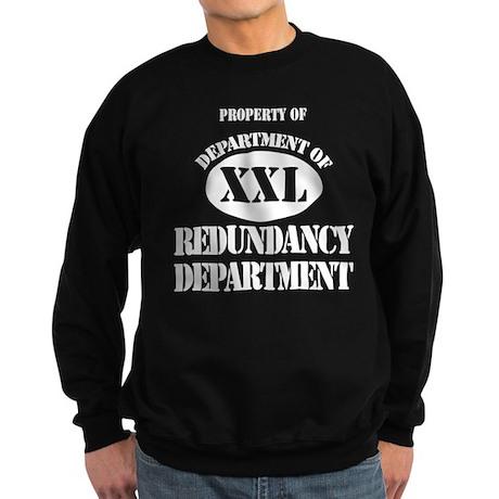 Dept of Redundancy Dept Sweatshirt (dark)