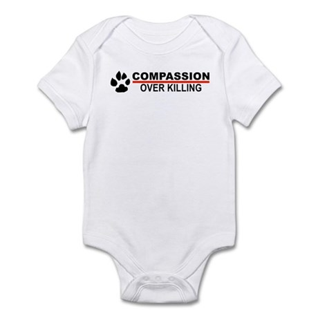 Compassion Over Killing Infant Body Suit