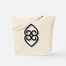 Adinkra - Earth BW Tote Bag