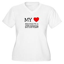My Heart Belongs To A STUFFER T-Shirt