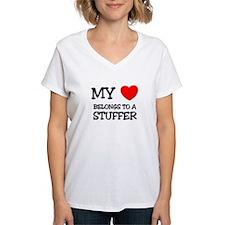My Heart Belongs To A STUFFER Shirt