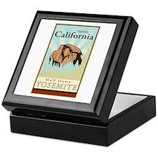 travel California Keepsake Box