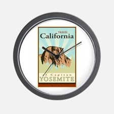 Travel California Wall Clock