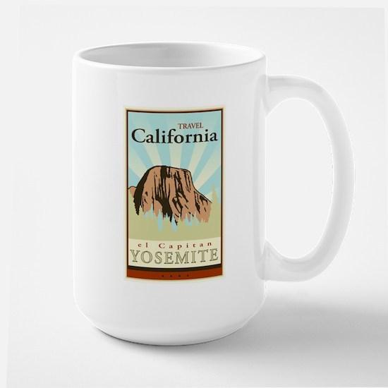 Travel California Large Mug
