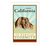 Vintage yosemite Postcards