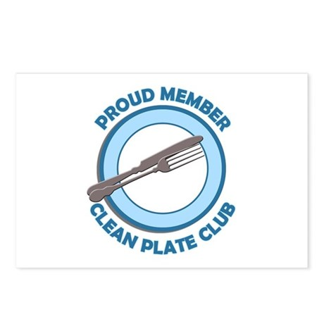 Clean Plate Club Member Postcards (Package of 8)