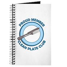 Clean Plate Club Member Journal