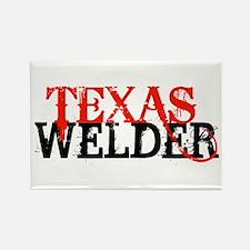 Texas Welder Rectangle Magnet